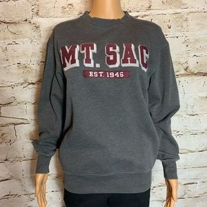 MT SAC College Pull Over Sweatshirt By Jansport